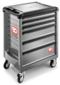 Servante ROLL6 6 tiroirs. Nouvelle génération. Facom ROLL.6M3PB grise