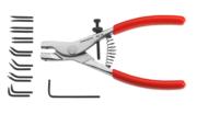 FACOM - 470.E - Becs de rechange pour pinces Circlips® 467 et 469 - 470.E2