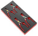 FACOM - Module mousse 4 pinces pour Circlips® - MODM.PCSNPB