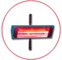 SECHEUR 1KW AVEC SUPPORT HL100010