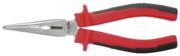 KSTOOLS - Pince à bec demi-ronds KS, à poignées bi-composants L,210 mm - 115.1024