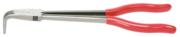 KSTOOLS - Pince électronique standard à bec demi-rond coudée 90°, extra-longue, 270 mm - 500.7053