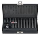 KSTOOLS - Coffret d'embouts KS TORX, 15 pièces: T20 - 25 - 30 - 40 - 45 - 50 - 55 - 911.5020