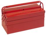 KSTOOLS - Caisse à outils métallique, 5 compartiments - 430x200x200 - 999.0120