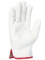 SINGER - Paire de gants tout fleur de bovin - Coloris naturel - Serrage élastique - Taille 10 - 56GN10