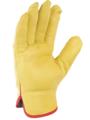 SINGER - Paire de gants tout fleur de bovin - Coloris jaune - Serrage élastique - Taille 11 - 50GY