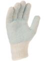 Paire de gants polyester/coton avec points PVC sur la paume. Jauge 7. Singer TC507HB. Taille unique