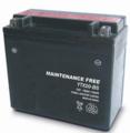 TOPCAR - Batterie moto 12V 18Ah - YTX20L-BS