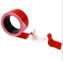 TOPCAR - Ruban haute résistance 50mmx100m Rouge/Blanc - 3055016