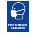 TOPCAR - Panneau Masque de protection obligatoire - Rigide A4 - 4600130
