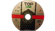TOPCAR - Disque à tronçonner l'acier ou l'inox 125x1.6 mm - DISQUE125X1.6