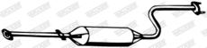 Silencieux central WALKER 06485