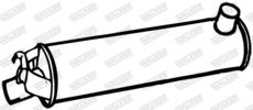 Silencieux central WALKER 06655