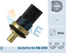 Sonde de température, liquide de refroidissement FAE 33781