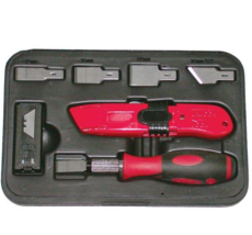 Coffret racloir et cutter pour pare-brise Clas OC0302