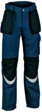 COFRA - Pantalon Bricklayer 02 Navy / Noir T.48 -BRICKLAYER 02 T48