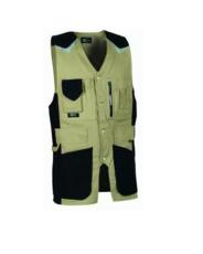 COFRA - Veste Craftsman V009 Gris/Noir T.48 - CRAFTSMAN 01 48