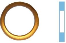 Joint de vidange cuivre diamètre 12,5 - 16 - 1,5 mm Corteco 005542H