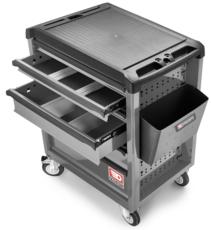 FACOM - Servante ROLL6 6 tiroirs - Nouvelle génération grise - ROLL.6GM3PF