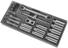FACOM - Module 28 outils pour tête d'amortisseur Mac Pherson - D.83C