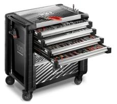 Servante JET.6M4 6 tiroirs avec composition outillage 4 tiroirs complets