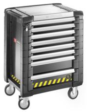 FACOM - Servante JET+ 8 tiroirs - 3 modules par tiroir - gamme sécurité - JET.8GM3S