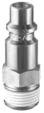 """Embout fileté mâle conique prétéflonné 1/2"""" gaz BSP Facom N.651"""