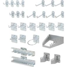 KSTOOLS - Kit crochets et accessoires d'accroche - 860.0888