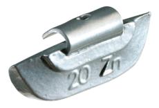 Masses d équilibrage à crochet pour jantes ACIER 15G, boite de 100 pièces KS Tools 1001015