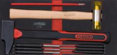 KSTOOLS - Module d'outils de frappe manche fibre, 9 pièces - 713.1102