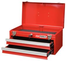 KSTOOLS - Coffre à outils vide avec 2 tiroirs et plateau - 891.0002