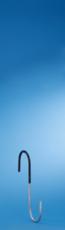 MOTTEZ - Crochet en S Longueur 20cm gainé - B003V20G
