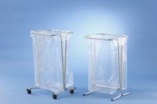 MOTTEZ - Support sac poubelle fixe 100-110 litres  -bleu - B015CNMBL