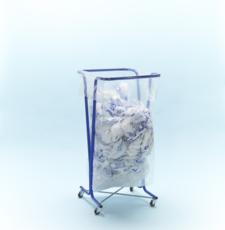 MOTTEZ - Support sac poubellle 400 litres avec roulettes - B016C400