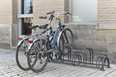 MOTTEZ - Râtelier 5 vélos Versailles sur 2 niveaux - B129US