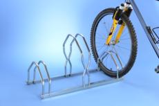 MOTTEZ - Râtelier 3 vélos sur 2 niveaux - B129V3