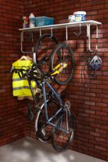 MOTTEZ - Râtelier mural 5 vélos - B130P