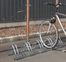 MOTTEZ - Support 5 vélos face à face - B131V