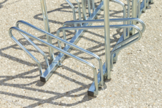 MOTTEZ - Range 20 vélos au sol face à face 400x63x83 cm - B198AR