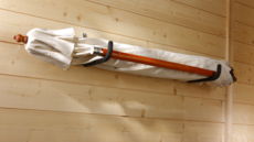 MOTTEZ - Crochet longueur 350mm gainé - Charge 40kg - F102G