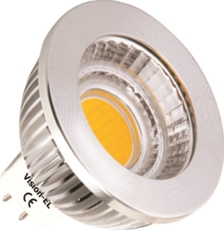 TOPCAR - Ampoule LED Culot GU5.3 à intensité variable - 02034