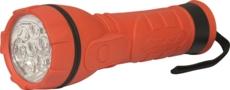 TOPCAR - Lampe torche caoutchouc 7LED - 02276