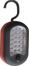 TOPCAR - Lampe de poche à piles 24 + 3 LED - 02296