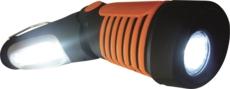 TOPCAR - Torche articulée rechargeable 1 LED COB  + 5 LED - 02309