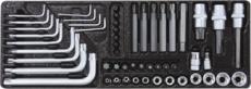 TOPCAR - Servante 7 tiroirs  - 243 outils - 25042
