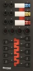 TOPCAR - Servante 7 tiroirs - 187 outils - 25049