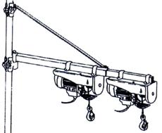 Potence horizontale TOPCAR 10810