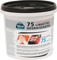 TOPCAR - Seau 75 lingettes main - 14664