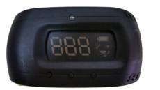Speed Visio Nomad Valéo - Affichage vitesse tête haute sur pare-brise voiture- Sans fil, sans montage Ref 632051