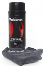 80 lingettes nettoyantes sans eau ni rinçage Vulcanet pour auto et moto
